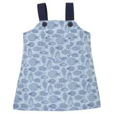 PINOKIO Dívčí šaty Little Fish