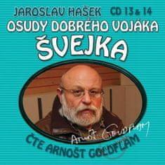 Hašek Jaroslav: Osudy dobrého vojáka Švejka (13 & 14) - KNP-2CD