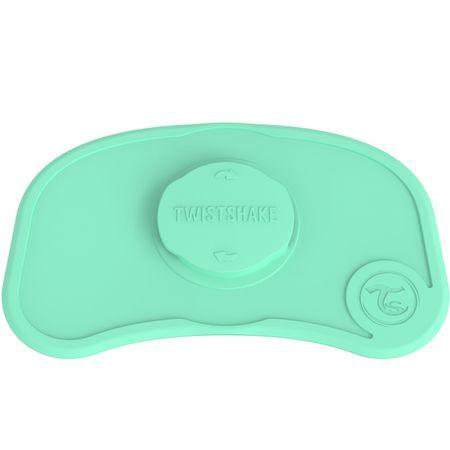 Twistshake Protiskluzová Podložka Click Mat Mini, Pastelově zelená