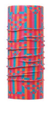BUFF otroška tuba Pixel Pink, UV zaščita, roza