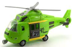 Teddies Vrtuľník 44 cm so svetlom a zvukom