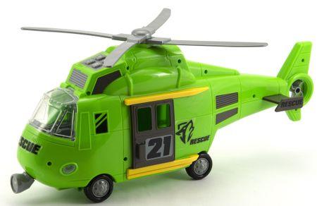 Teddies Helikopter s svetlobo in zvokom, 44 cm