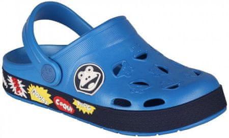 Coqui Chlapecké sandály Froggy 26/27 modrá