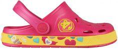 Coqui Dívčí sandály Froddy růžovo-žlutá