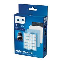 Philips zestaw filtrów do odkurzaczy FC8058/01