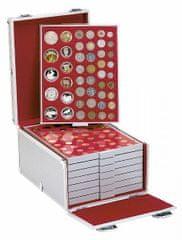 Sběratelský box hliníkový na 8 kazet (prázdný)