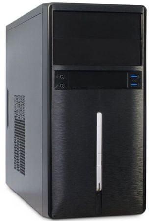 Inter-tech micro ATX ohišje GM-6019, črno