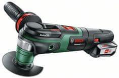 Bosch višenamjenski alat AdvancedMulti 18, 1x 2,5 Ah akum. baterija (0603104021)