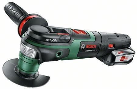 Bosch večnamensko orodje AdvancedMulti 18, 1x 2,5 Ah akum. baterija (0603104021)