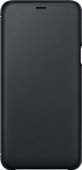 Samsung A6 plus flipové pouzdro, černá EF-WA605CBEGWW
