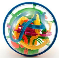 Teddies Hlavolam Bludište 3D guľa 17 cm