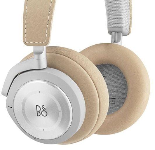 Bezdrátová sluchátka B&O Play Beoplay H9i Bluetooth pohodlí i po dlouhé době perfektně přilne paměťová pěna náušníků