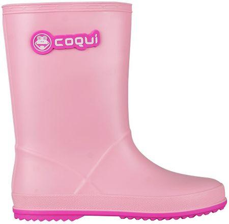 Coqui detské čižmy Rainy 35 ružová
