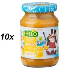 Hello Ovocná přesnídávka s mangem a vitamínem C 10x190g