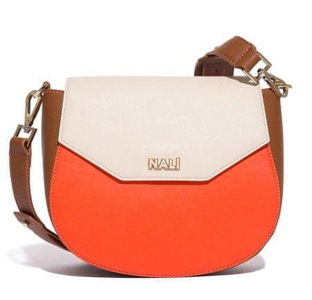 Nalí ženska torbica za nošenje preko telesa, večbarvna