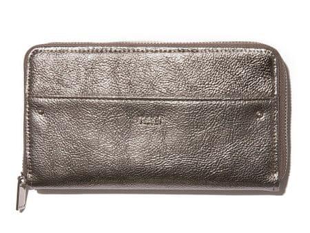 Nalí portfel damski brązowy