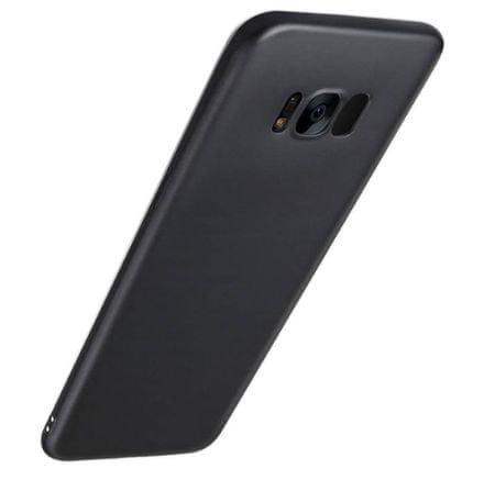 Silikonski ovitek za Samsung Galaxy A8/A5 2018, mat črn
