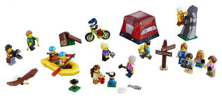 LEGO City 60202 Komplet figuric - pustolovščina v naravi