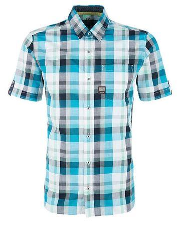 s.Oliver pánská košile XXL modrá
