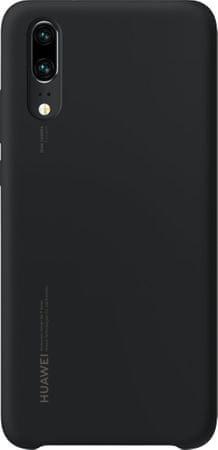 Huawei Silikonska maska za Huawei P20, crna