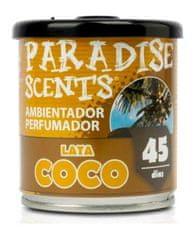 PARADISE SCENTS gel dišava v pločevinki, kokos CS12