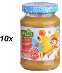 Hello Ovocná přesnídávka s pomeranči a vitamínem C 10x190g