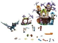 LEGO Elves 41196 Atak nietoperzy na Drzewo Elvenstar