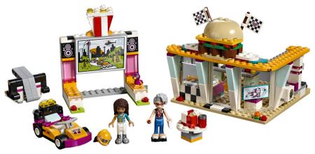 LEGO Friends 41349 Wyścigowa restauracja