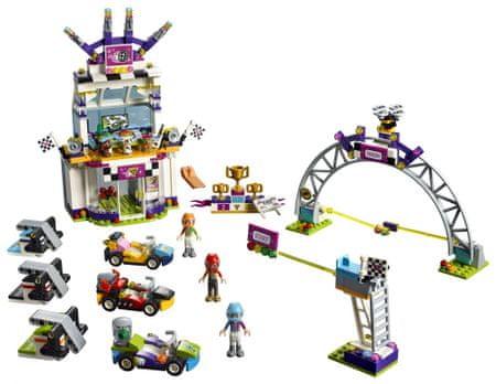 LEGO Friends 41352 Velika dirka - odprta embalaža
