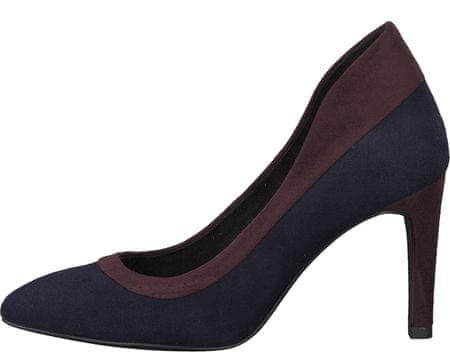 Tamaris ženski čevlji s peto, temno modri, 36