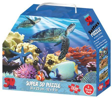 Lamps 3D Puzzle Zvieracie kráľovstvo 3v1