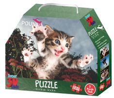 Lamps D Puzzle Mačiatka 3v1