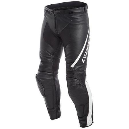 Dainese pánske kožené moto nohavice ASSEN veľ.46 čierna/biela