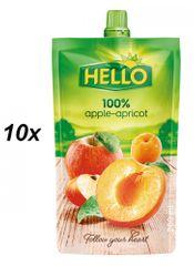 Hello 100% alma-sárgabarack 10x200ml