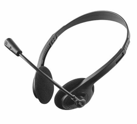 Trust slušalke z mikrofonom Ziva