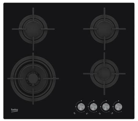 Beko plinska kuhalna plošča HILW64222S