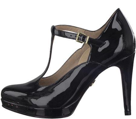 Tamaris ženski čevlji s peto, 36, črni
