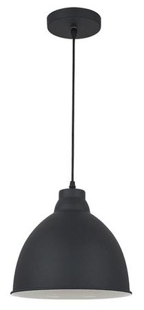 Solight luster Trento, 26 cm, E27 čierna