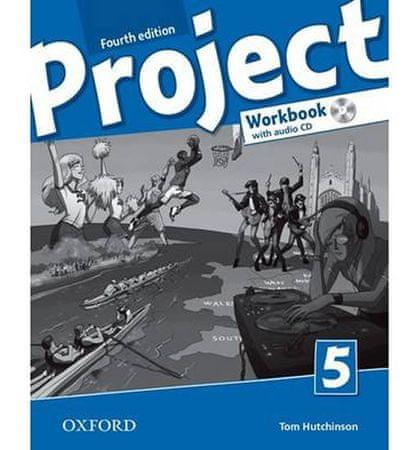 Hutchinson Tom: Project Fourth Edition 5 Pracovní sešit s poslechovým CD a Project Online Practice