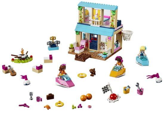 LEGO Juniors 10763 Stephanie a její dům u jezera