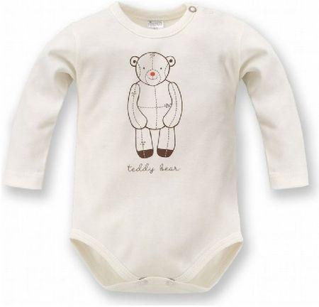 PINOKIO Detské body Teddy Bear - béžové 62