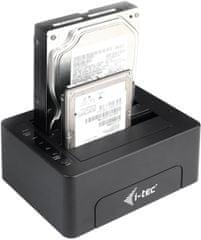 I-TEC USB 3.0 dokkoló állomás SATA HDD U3CLONEDOCK