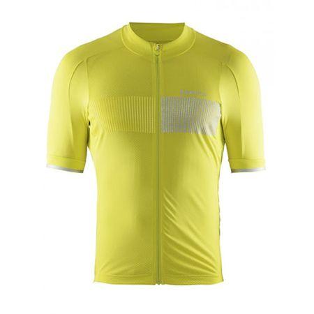 Craft moška majica Verve Glow Jersey M Race, rumena, M