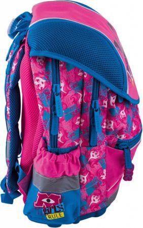886ce113bd916 BAAGL Ergonomiczny plecak szkolny - Potwory i spółka – duży