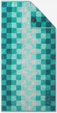 Joop! brisača Squares, 80 x 150 cm, turkizna