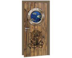 Dimex Fototapeta na dvere DL-019 Námornícke dvere 95 x 210 cm