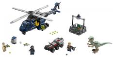 LEGO JurassicWorld 75928 Blue helikopteres üldözése