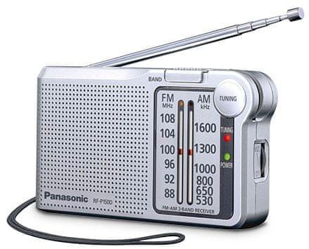 Panasonic RF-P150DEG, stříbrná
