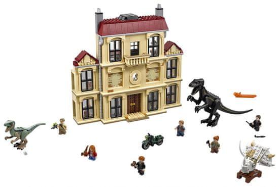 LEGO JurassicWorld 75930 Vyčíňanie Indoraptora na panstve Lockwoodovcov
