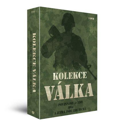 Kolekce Válečné filmy (3DVD): Povinnost a čest + Boj + A JITRA JSOU ZDE TICHÁ   - DVD